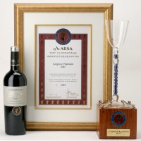 Pinotage 2007 with awards